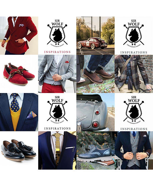 Inspirations Sir Wolf Shoes