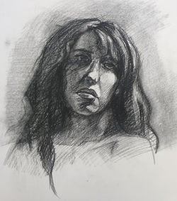 Charcoal on Paper, 2010, 24x36