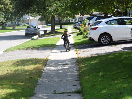 Lessons in Learning to Ride a Bike