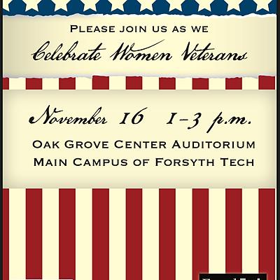 Forsyth Tech Honors Women Veterans