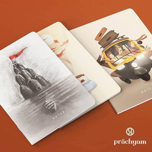 Notebook 'Kashi' Theme   Mini   Set of 3