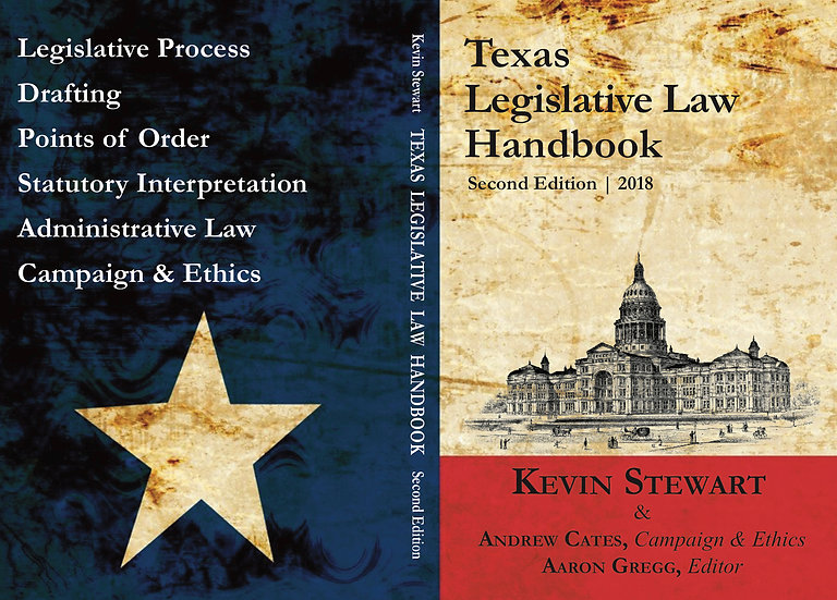 Texas Legislative Law Handbook