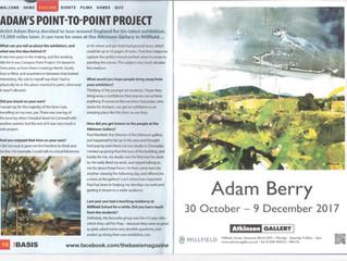 Adam Berry Exhibition at The Atkinson Gallery in Street, Glastonbury, Somerset