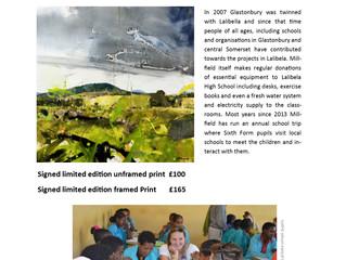 Adam Berry Charity Prints for Ethiopian School