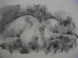 Stella O'drive charcoal study