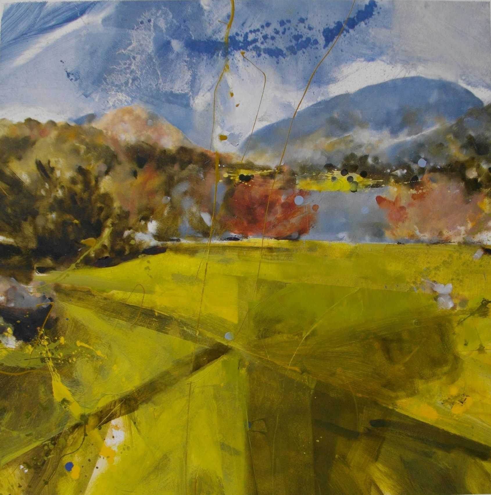 'Across a Sheet of Water, Grasmere'.
