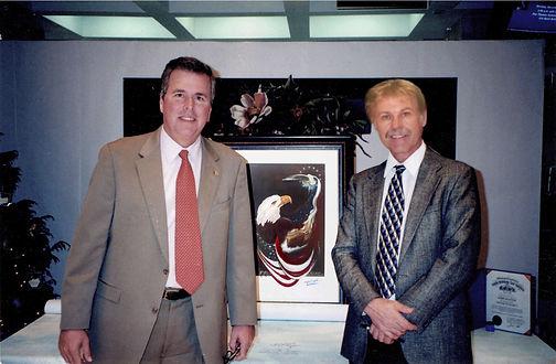 Governor Bush and Kern at Cap.jpg