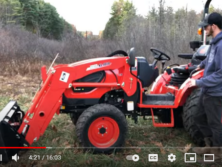 Kioti CK3510SE HST Tractor Product Overview and Review