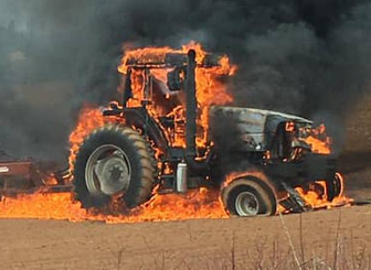 What to Do If Your Tractor Catches on Fire