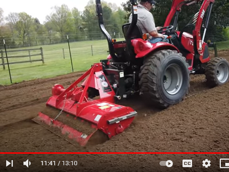 How to Use Your Tractor to Quickly and Easily Get Topsoil Ready for Gardening