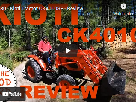 Kioti Tractor CK4010SE Overview and Review