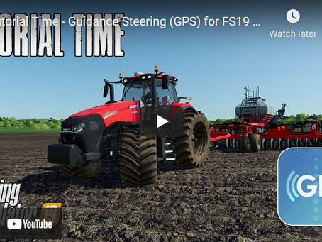 Guidance Steering GPS Tutorial for Beginners and Experienced Operators