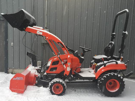 Snow Removal Implements Made Simple