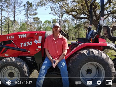 TYM T474 Tractor With Backhoe Overview and Review