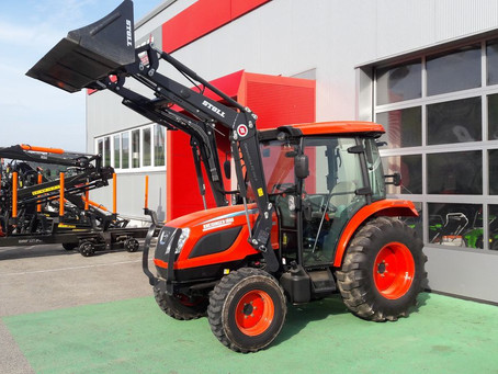 Why Choose an AC Cabin Tractor?