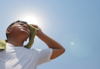 How to Stay Safe on Your Tractor in Extreme Heat