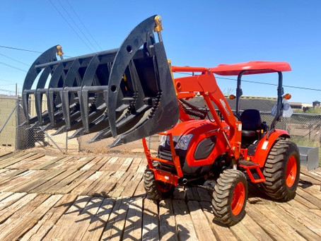 SPECIAL --- 2020 KIOTI CK3510-TL 35HP Tractor Loader with Attachments – Only 80 Hours