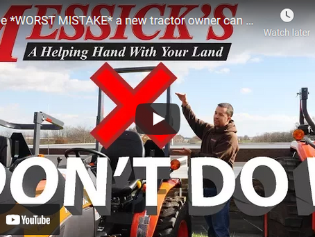 A Massive Mistake Made By Too Many Tractor Owners