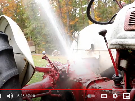 Quickly Erase All Tractor Grease and Grime With This Miracle Solution