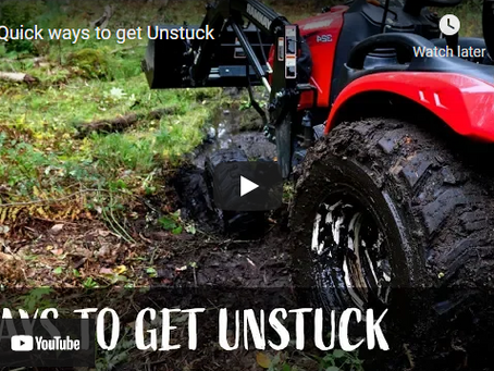 7 Ways to Get Your Tractor Unstuck from Mud