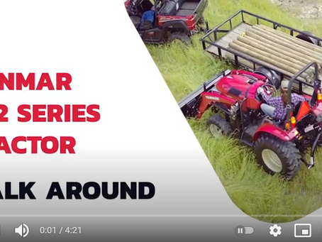 YANMAR YT2 Tractor First Look Overview and Review