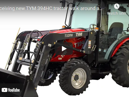 TYM Tractors T394HC Product Overview and Review