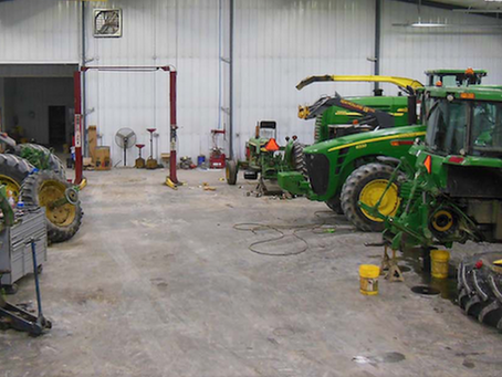 How to Prepare Your Tractor Service Area for Efficiency and Safety