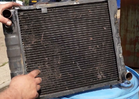 How Do I Clean My Yanmar Tractor Radiator Fins?