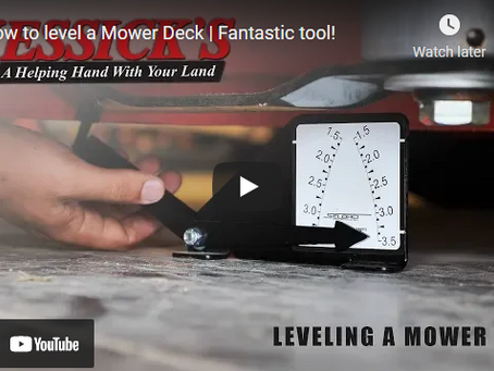 How to Properly Level a Tractor Mower Deck