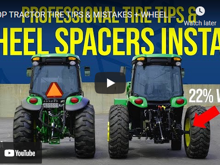 How to Install Tractor Wheel Spacers