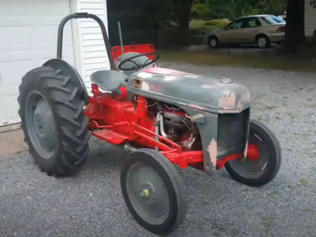I Want to Paint My Tractor