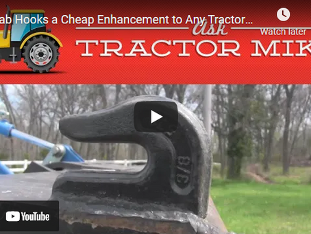 How to Use Grab Hooks On Your Tractor Bucket