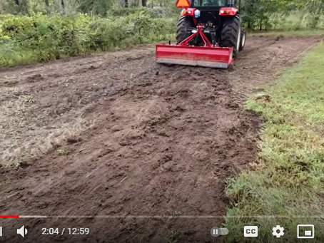 What You Can Do With a Box Blade and Why It Is Such an Important Tractor Implement