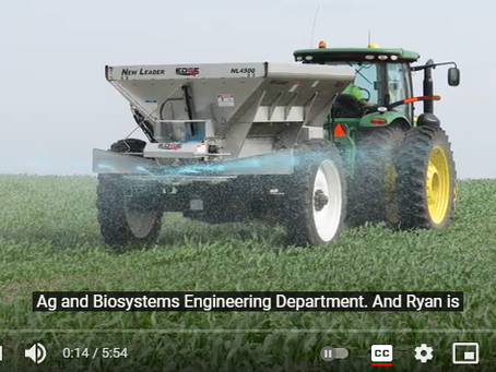 Expert Explains How to Apply Fertilizer with a Tractor Spinner Spreader