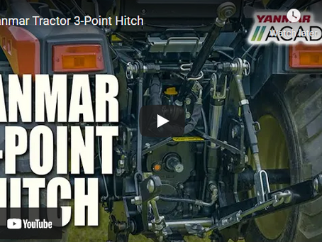 How to Use Your 3-Point Hitch --- A Yanmar Academy Presentation
