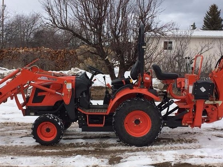 Winter Yanmar Tractor Maintenance Tips