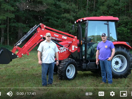 TYM Tractors T654 Product Overview and Review