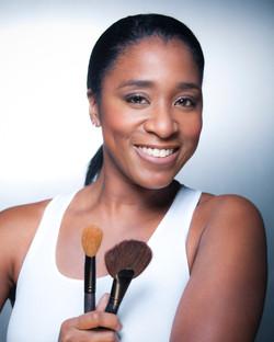 Makeup artist headshot