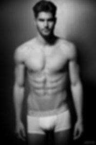 Nick Bateman in Calvin Klein underwear