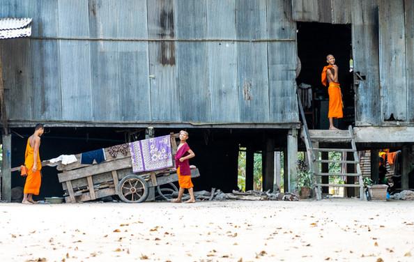Monks on Break