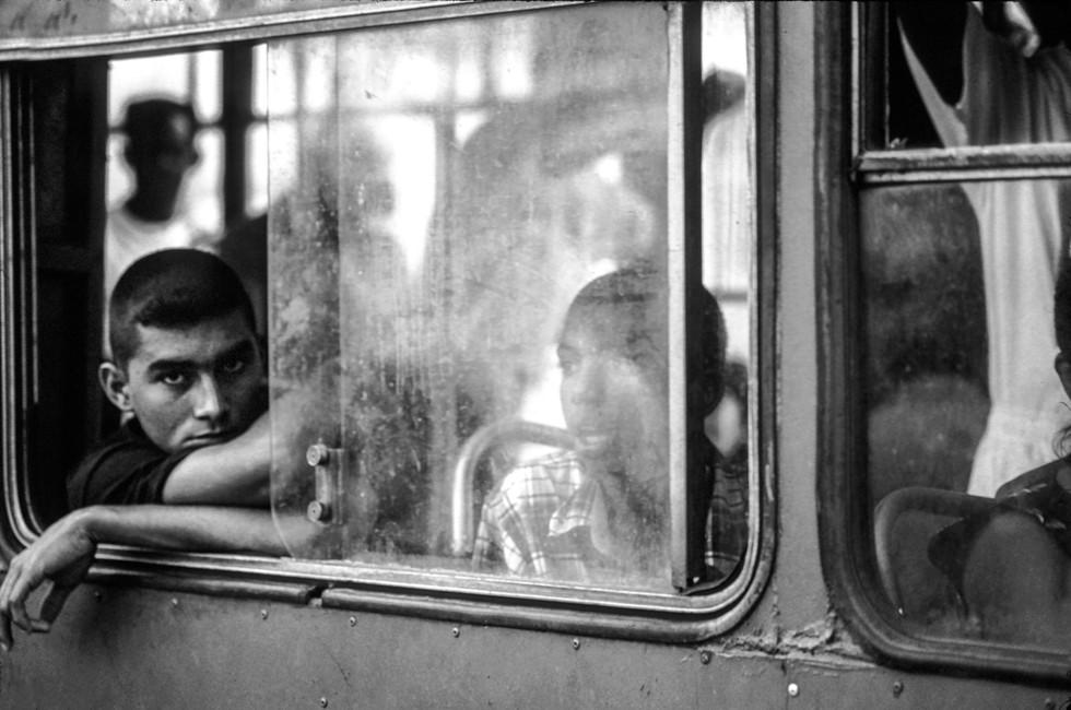 Man on Bus, Havana