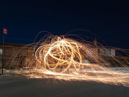 Photo of the Day - Fire Ball in Red Hook