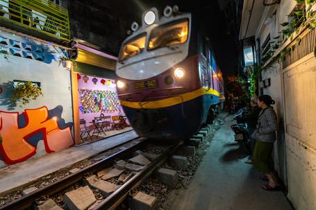 Train Coming Through My 'hood