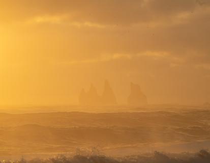 Sea Stacks at Sunset