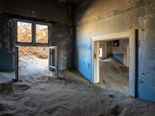 Eerie Photographs from a Namibian Ghost Town