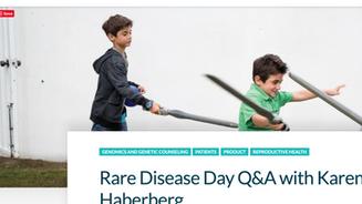 Myriad Health - Q&A with Karen Haberberg