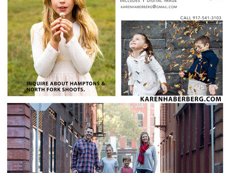 Holiday Photo Mini Sessions with Karen Haberberg - 1 Day Only