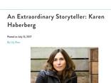 NY Family Magazine - Extraordinary Storyteller