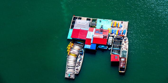 Vietmam House Boat
