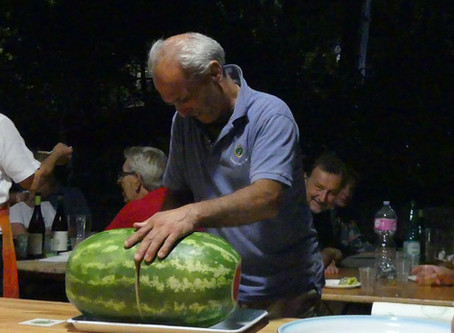 Cena sociale dei Viatores Umbro Sabini del 20 agosto 2019